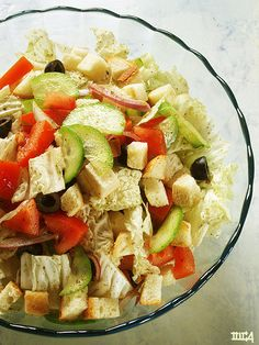List of top 6 healthy salad recipes bean and veggie salad (last one)