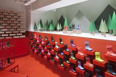 Hunter Boots Flagship Store - London - The Cool Hunter - The Cool Hunter