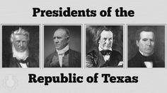 The four Presidents..... Burnet, Houston , Lamar, Jones
