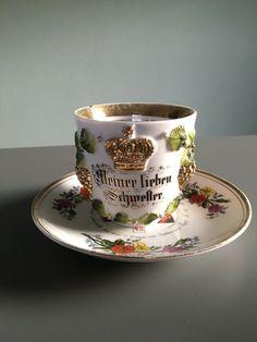 Antike Reservisten Tasse 1912 1 Comp. Infanterie Reg. Nr 43 Königsberg   eBay Tea Cups, Bronze, Ebay, Tableware, Rain, Antiquities, Brother, Dinnerware, Tablewares