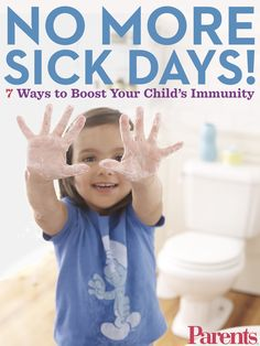 Colds and flu are a fact of life for kids, but there are smart steps you can take to help boost your child's immunity.