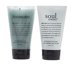 Philosophy Footnotes & Soul Owner Duo are perfect for summer! Your feet will be soft and ready to show off in sandals