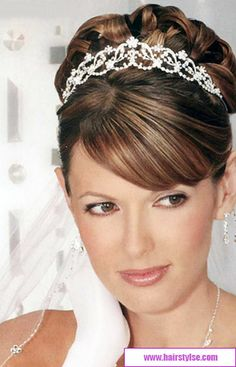 beautiful 2014 wedding hairstyles for brides | wedding hairstyles 2013-2014 with beautiful hairband