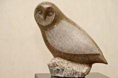 Stenen beelden, Hans   ateliervogelvrij.nl