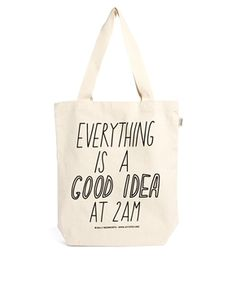 Talented Totes - Sally Beerworth Everything is a Good Idea - Tote Bag - Asos
