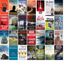 """Wednesday, January 3, 2018: The Prince William Public Library System has ten new bestsellers, one new movie, one new audiobook, one new music CD, 62 new children's books, and 102 other new books.   The new titles this week include """"The Power,"""" """"Robicheaux: A Novel,"""" and """"A Question of Faith."""""""