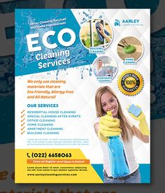 We on our website have compiled and gathered the best of the best Cleaning Services Flyer Template Desings from those that are available out there on the. Cleaning Service Flyer, Cleaning Flyers, Cleaning Business Cards, Cleaning Day, Domestic Cleaning Services, Cleaning Services Company, Clean Toilet Bowl, Advertising Flyers, Photoshop Design