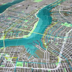 2 | See A Beautiful, Data-Enriched Map of New York City | Co.Create | creativity + culture + commerce