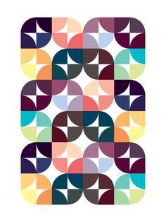 Place de Clichy (2009) // Geometric Art by Gary Andrew Clarke