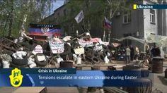 Ukraine Crisis Deadlock: Pro-Russian seperatists continue insurgency des...