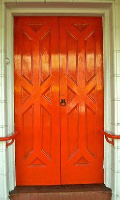 Red Door in Coonabarabran's main street by Andy Burton Oz, via Flickr
