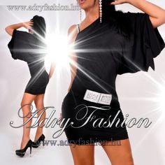 ab7a5f3008 NedyN fekete poliamid Pelikán női ruha - AdryFashion női ruha webáruház,  Ruha webshop, Amnesia, NedyN, Rensix , Egyedi ruha