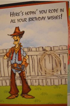 Cowboy Slim.Sells for 7.99 Sold separately are the words, fence,lasso & grass, which are in my ebay store. Made by Art Impressions Rubber Stamps.You can purchase these from my ebay store: Pat's Rubber Stamps & Scrapbooks, Click on the picture here to see the listing , or call me 423-357-4334 with order, . We take PayPal. You get FREE SHIPPING ON PHONE ORDERS of $30.00 or more. Use my search engine to find all items you are interested in