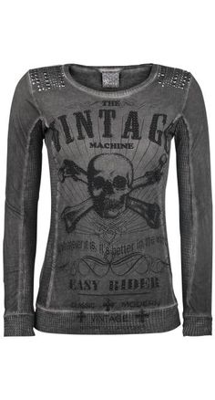 Vocal Vintage Skull Top ~ EMP