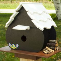 Alpine Birdhouse Woodworking Plan by Paul Anderson