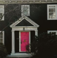 Modern Home Design - Perfect Pink Door