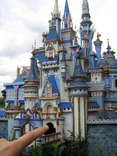 Jamie Ibanez, of the Philippines specializes in miniature 2- and 3-dimensional castles of his own design.