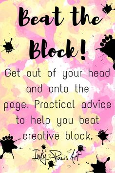 A free course. Get out of your head and onto the page. Beat creative block and get inspiration flowing with these practical tips and ideas