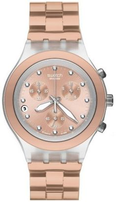 Swatch Full Blooded Caramel Watch -love Swatch as a kid and now as a mom great waterproof and light watch