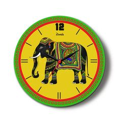 Buy contemporary wall clocks online chennai at best price. This clock is gorgeous, it's displayed on our fire and therefore the first factor you see once you walk into our den.  myiconichome wall clocks, Wall clocks, Online Shop, Best Price