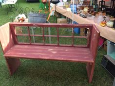 This bench would be easy to make!