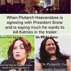 Real fans of the hunger games