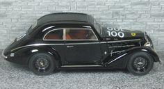 Alfa Romeo 6c 2300 B Pescara Berlinetta Touring - Mille Miglia 1935 #100 - Alfa Model 43
