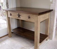 Primitive DIY little table/ stand @ Home Design Ideas