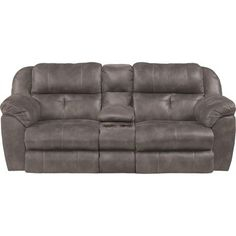 Catnapper Ferrington Reclining Loveseat Body Fabric Dusk Lumbar Support Yes