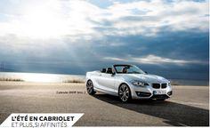 """""""L'été en cabriolet et plus si affinités"""" : Cabriolet BMW Série 2"""