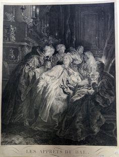 Jacques Firmin Beauvarlet (Abbeville, 25 septembre 1731- Paris, 7 décembre 1797) Les apprêts du bal