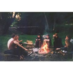 Three summers after high school graduation, and we still all make time to chill around the campfire, because even though our lives have changed oh-so-drastically, our friendships still burn bright.
