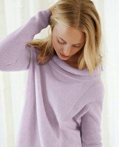 Lara cashmere sweater ~Pastel~ Challenge Pin