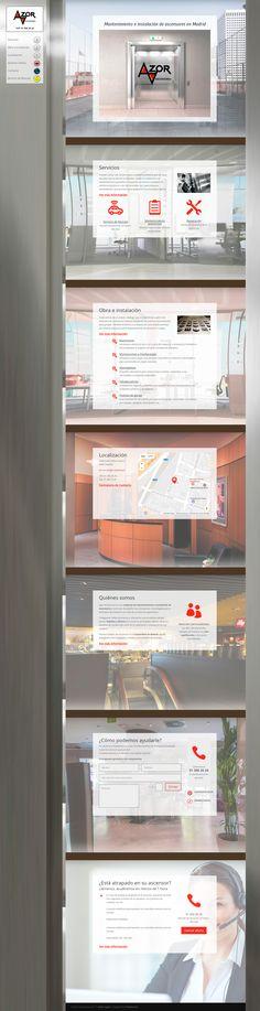 Diseño de página web en WordPress con el framework Divi para empresa de mantenimiento de ascensores.