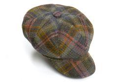 Olney Anne Ladies Tweed Cap Olive #Bestinthecountry