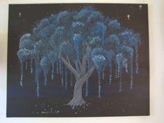 Surreal 'Goodnight' Tree FIne Art Any Occasion by ArtByKatieK, $3.25