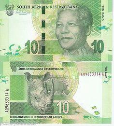 South African Currency: Nelson Mandela I Lenda V. WON the 2016 September lotto jackpot💚