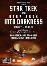Star Trek: Into Darkness at the Royal Albert Hall  Well it had a live orchestra :) Excellent idea having a live orchestra play the film score whilst watching the film. In the surroundings of the Royal Albert Hall it made for a memorable evening.