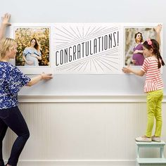 Photo Banners Create Custom-Banner Prints At Walgreens Graduation Banner, Graduation Party Supplies, Custom Vinyl Banners, Personalized Banners, Walgreens Photo Gifts, Picture Banner, Best Banner Design, Create A Banner, Printable Banner