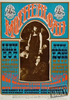 Big Brother and the Holding Company concert poster