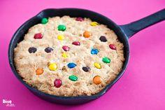 m's skillet cookie cake
