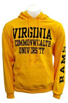 Virginia Commonwealth University Gold Hoodie
