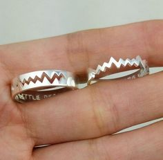 Personalized Couples Rings Promise Rings for Couples di JewelryRB