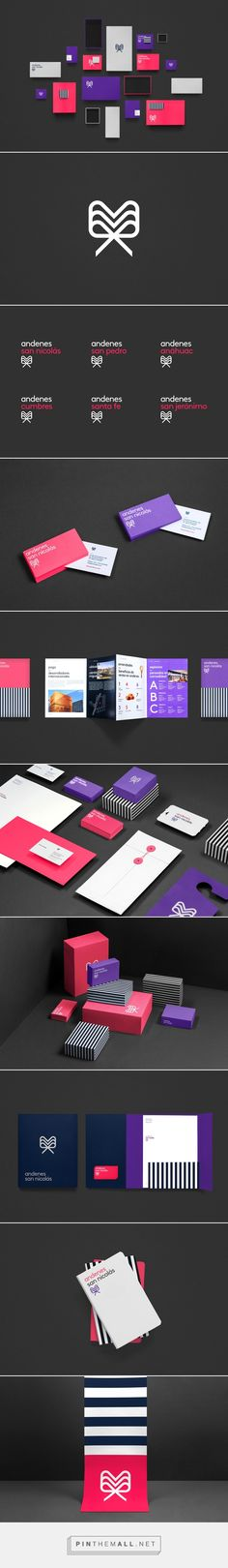 Andenes branding packaging design on Behance by one of our favorite designers Anagrama curated by Packaging Diva PD colorful and fun.