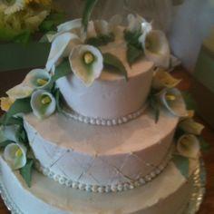 One of my best! My wedding cake!! Done by Ann Ryan!!