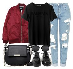 """""""Untitled #3724"""" by plainly-marie ❤ liked on Polyvore featuring Stussy, Topshop, Achilles Ion Gabriel and French Connection"""