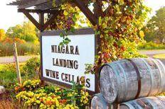 Niagara Wine Trail USA Niagara Landing Wine Cellars #Niagara #Wineries