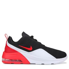 424a31492229 Nike Men s Air Max Motion 2 Sneakers (Black Red White)