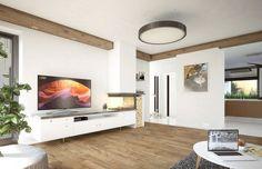Umbra 88.00 m2   Projekt domu tradycyjnego   projekty domów   kreoDOM.pl Flat Screen, Blood Plasma, Flatscreen, Dish Display