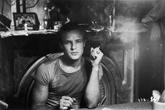 Marlon Brando in A Streetcar Named Desire, 1951.